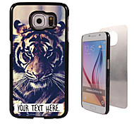 Personalized Case - Tiger Design Metal Case for Samsung Galaxy S6/ S6 edge/ note 5/ A8 and others