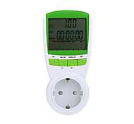 lcd medidor de energia de alimentação do monitor de tensão potência digital de analisador monitor de freqüência atual