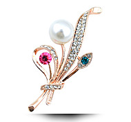 A Bouquet Of Freshwater Pearl Brooch