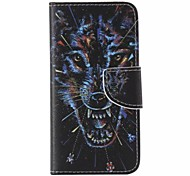 Wolf Pattern Cell Phone Leather For iPhone 6/6S