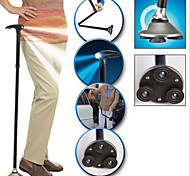 Classy Adjustable Folding Cane with LED Lighting