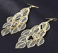 Ohrring Tropfen-Ohrringe Schmuck 2 Stück Damen Goldfarben