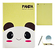 The Panda Pattern Stereo Eye Stent Case for iPad Air