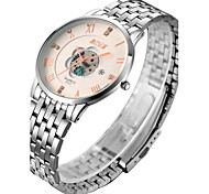 Woman's Watch Hollow Steel Calendar Quartz Quartz Watch Waterproof Personality