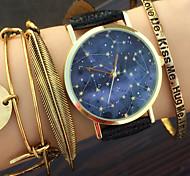 Himmelsblaupause Uhr, Sternbilder, Weinleseraum, Unisex-Uhr, Damenuhr, Herrenuhr, Astronomie, Geschenkidee
