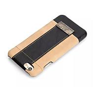 PU cuir étui rigide vintage pour iPhone 6 plus / 6s plus (couleurs assorties)