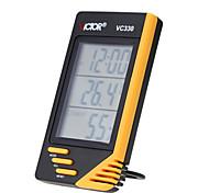 victor mano cubierta de humedad digital de la temperatura del termómetro metros higrómetro