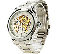 SHENHUA® Men's Watch Auto-Mechanical Skeleton Watch Water Resistant Cool Watch Unique Watch