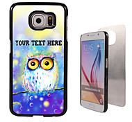 Personalized Case - Dream the Owl Design Metal Case for Samsung Galaxy S6/ S6 edge/ note 5/ A8 and others