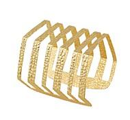 HUALUO®Generous Opening Bars Hollow Metal Bracelet