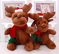 Babbo Natale milu cervo peluche Natale bambola cervi per natale