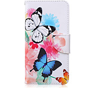 Recent Pattern PU Material Card Case for Samsung Galaxy Note 3/Note 4/Note 5