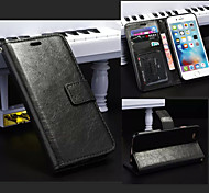Hot Magnetic Leather Case Wallet Case PU Photo Frame Cover With Card For iPhone 6/6S
