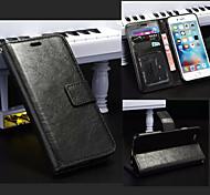 magnétique cas en cuir étui portefeuille PU couverture de cadre photo chaude avec la carte pour iphone 6 / 6s
