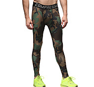 Vansydical Men's Quick Dry Fitness Bottoms Yellow / Green / Blue / Orange