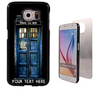 caixa personalizada - casa caso design de metal para Samsung Galaxy S6 / S6 edge / nota 5 / a8 e outros