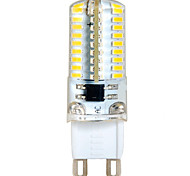 G9 6W 72 SMD 3014 580 LM Warm White / Cool White T Decorative Bi-pin Lights AC 220-240 V
