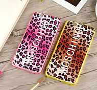 Sexy Leopard Acrylic Soft Cases for iPhone6/iPhone 6s(Assorted Colors)