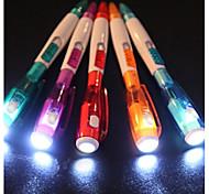 3PCS Flashlight Ballpoint Pen