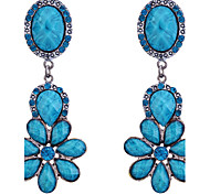 European Style Vintage Resin Chanderlier Earrings