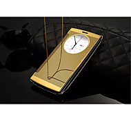 LG G4 PU Leather Full Body Cases Solid Color / Metal Finish / Special Design / Novelty case cover