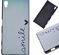 Smile Pattern PC Hard Cover Case for Sony Z5