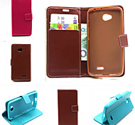 Other PU Leather / TPU Full Body Cases / Cases with Stand Solid Color / Special Design case cover