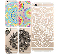 For iPhone 7 MAYCARI®Mandalas TPU Back Case for iPhone 6/iphone 6S