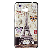 Back Cover Ultra-thin Eiffel Tower PC Hard Case Cover For Nokia Nokia Lumia 640