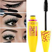 Mascara Cream Locken / Verlängert / Lang anhaltend / Wasserdicht / Gehobene Wimpern / Dick Schwarz Augen / Augenwimpern 1 Others