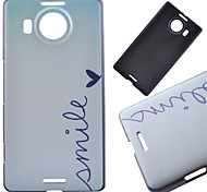 Smile Pattern PC Hard Cover Case for NOKIA 950 XL
