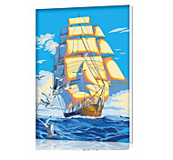 DIY Digital Oil Painting  Frame Family Fun Painting All By Myself  Smooth Sailing X5042