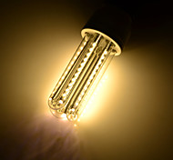 7 E26/E27 LED a pannocchia T 66 SMD 3014 650 lm Bianco caldo Decorativo AC 85-265 / AC 220-240 / AC 100-240 / AC 110-130 V 4 pezzi
