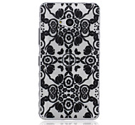 Poppies Pattern Material TPU Phone Case for Nokia N640
