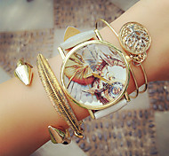 Fashion Women'S Watches Dragon Cartoon Analog Quartz Watches Student Wrist Watch Cool Watches Unique Watches