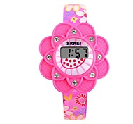 Skmei®Fashion Children LED Digital Wrist Watch PU Strap Assorted Colors