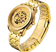 Men's Watch Gold Machinery Hollow Waterproof Watch