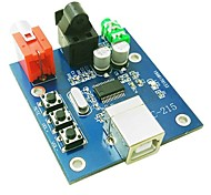 PCM2704 usb scheda audio DAC decoder - blu