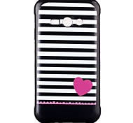Love Pattern TPU Phone Case for Galaxy J2/Galaxy J1 Ace