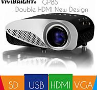 ViviBright® new GP8S best price HDMI VGA SD led portable mini projector