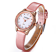 Women's Relogios Watch Woman Rose Gold Rhinestone Leather Watches Ladies Fashion Casual Dress Wristwtaches Cool Watches Unique Watches