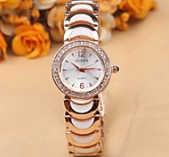 Fashion diamond bracelet watch melamine lap
