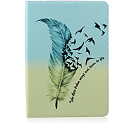Feather  Pattern  Stent Case for iPad Air