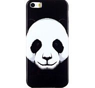 Panda Pattern TPU Phone Case for iPhone 5/iPhone 5S