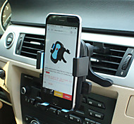 saída de ar do carro lebosh telefone Horder 360 graus de rotação do suporte do assento telefone móvel 4-6,3 polegadas