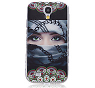 Girl TPU Leather Material Flip Card for Samsung Galaxy S3/S3Mini/S4/S4Mini/S5/S5Mini/S6/S6edge/S6edge+