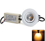 8W Luci a sospensione 1 COB COB 800 lm Bianco caldo Decorativo AC 100-240 V 1 pezzo