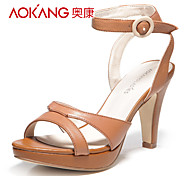 Aokang® Women's Leather Sandals - 132811537