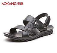 Aokang® Men's Leather Sandals - 121723094
