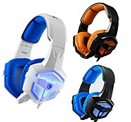 SADES Professional Stereo PC Gaming Headset With Microphone LED Light Noise-cancelling Wired Headphone for Computer